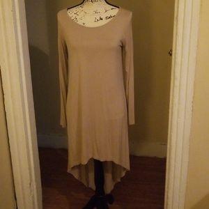 Hi lo  long sleeve dress.